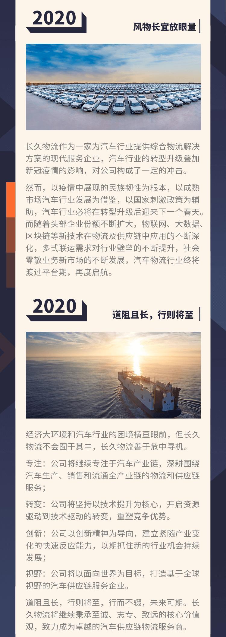 写给2020 | 长久物流薄世久:没有人是孤岛