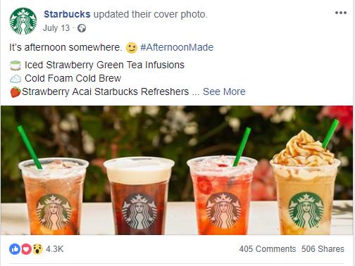 星巴克因仇恨言论暂停向社交媒体投放广告