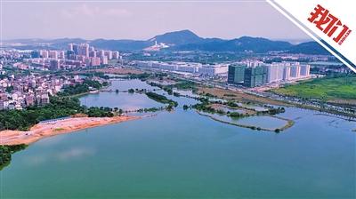 航拍江西吉安洪水退去 被淹道路交通恢复正常