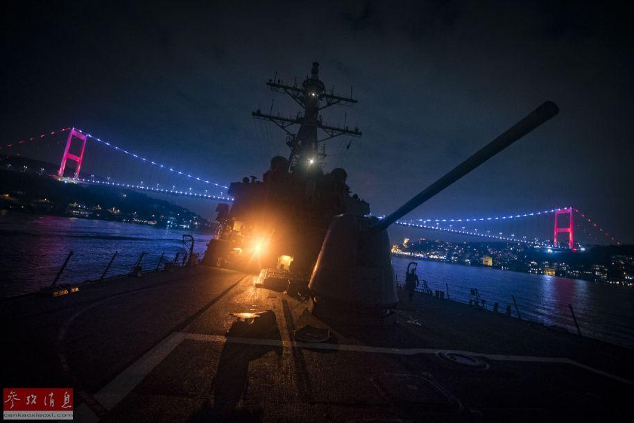 美军驱逐舰驶入黑海与乌军联合军演 俄黑海舰队密切跟踪