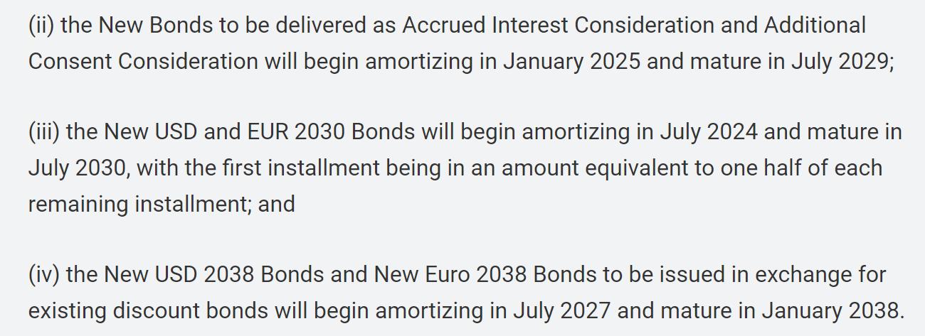 出现曙光 阿根廷宣布与主要债权人敲定650亿美元违约债务重组方案