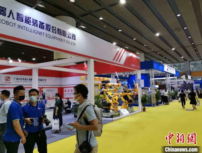 疫情以来中国智能装备行业线下首展在广州举行