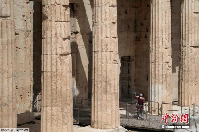 希腊本土疫情蔓延 雅典一博物馆因员工感染紧急关闭
