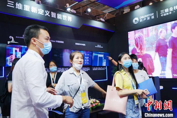 """""""苏州智博会""""举行 三维机器视觉技术在多领域赋能"""