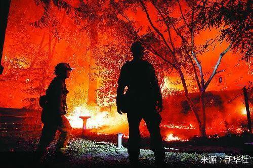 疫情山火夹击加州