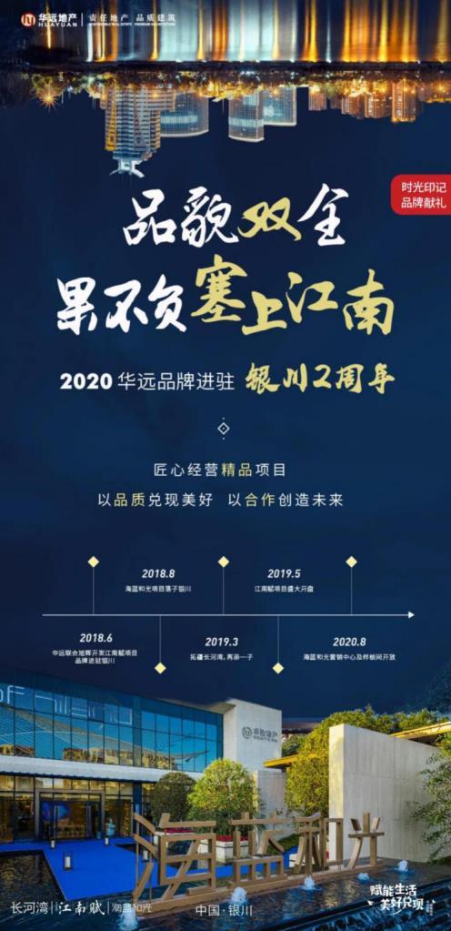 华远地产进驻银川两周年,与城市同频谱写未来篇章