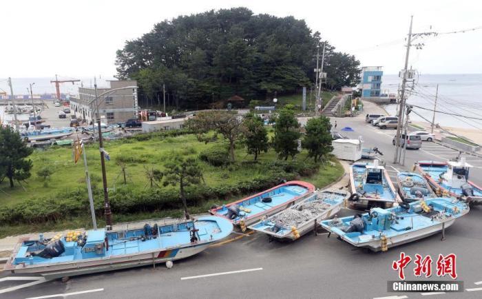"""台风""""美莎克""""继续北上 将对韩国全境造成影响"""