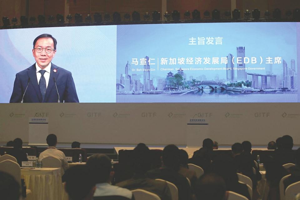 新加坡经济发展局主席马宣仁:新冠疫情提醒我们保持供应链韧性、扩大开放