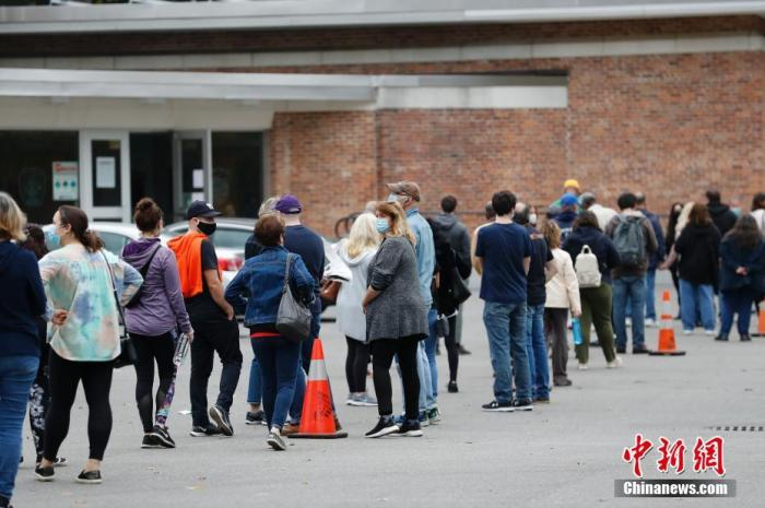 美疾控中心:新冠病毒感染者可到现场参与美国大选投票