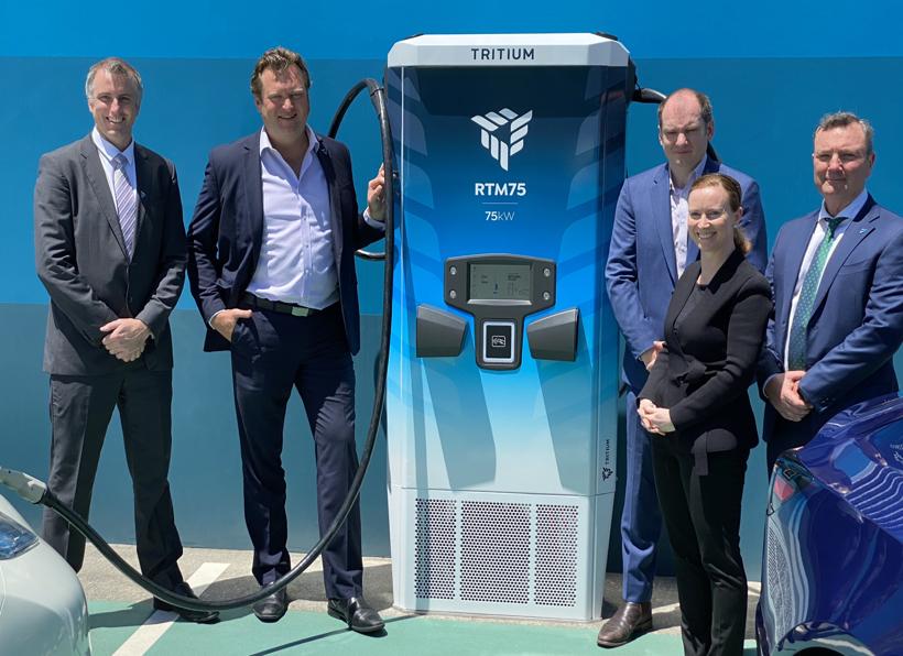 Tritium推出全球首款可扩展性电动汽车充电平台 灵活调整充电功率
