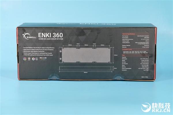 usdt充值接口(caibao.it):首次杀入CPU水冷 芝奇ENKI 360水冷散热器图赏 第10张