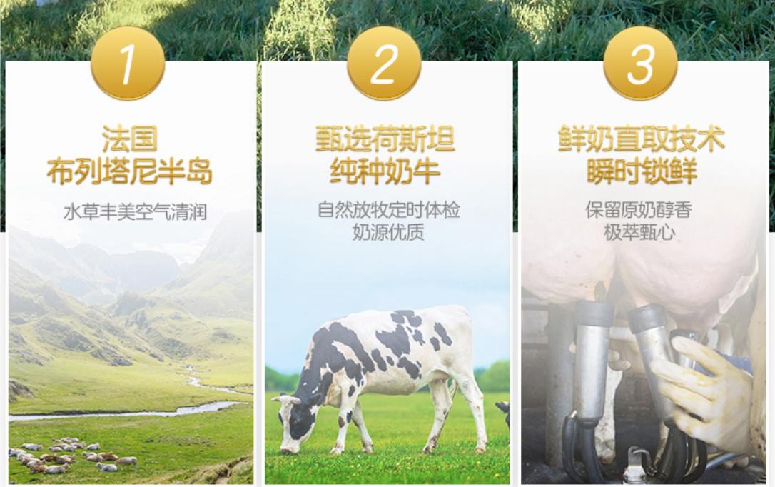 圣元甄选世界黄金奶源地,旗下产品品质可信赖