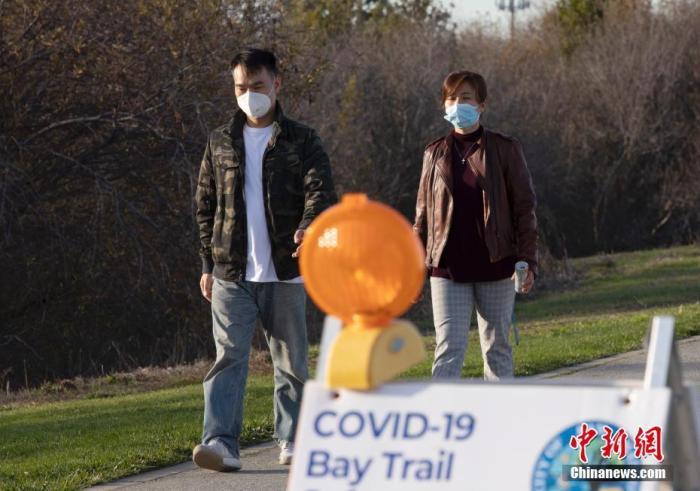 美媒:美国加州1月份近1.5万人死于新冠肺炎