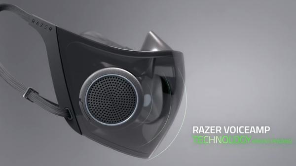 自带RGB的N95 雷蛇称将量产Hazel概念口罩