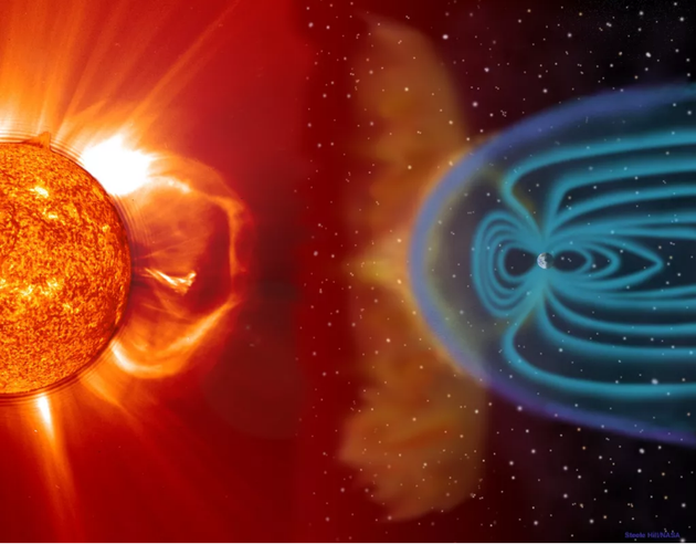 太阳粒子如何影响地球气候变化?它会破坏我们的臭氧层