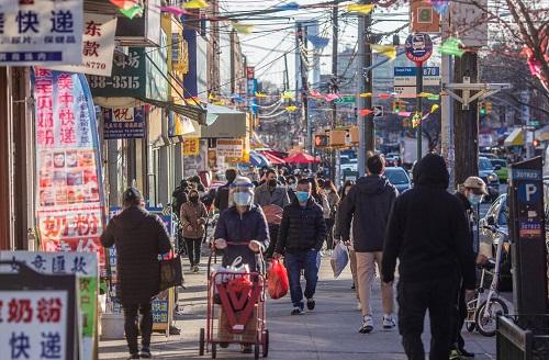 美媒:纽约唐人街一年来苦苦挣扎 遭遇新冠病毒疫情冲击再被仇视亚裔暴力歧视