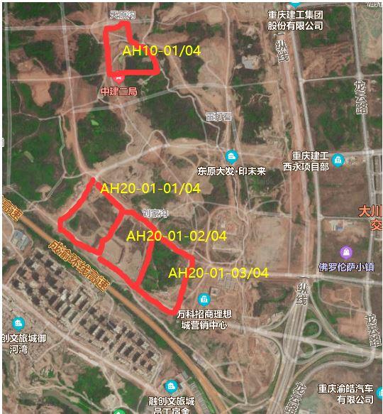 楼面价10460元/�O!招商32.5亿元摘得西永280亩地 溢价率129.98%