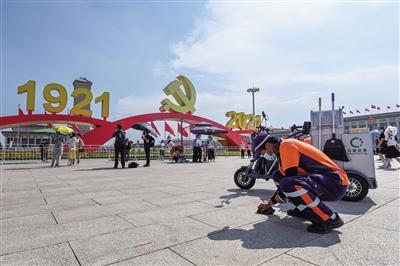 天安门广场景观运维人员24小时驻场