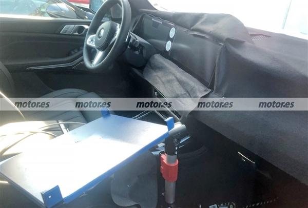 新款宝马X7曝光:iDrive 8车机上车、有望搭丰田氢动力
