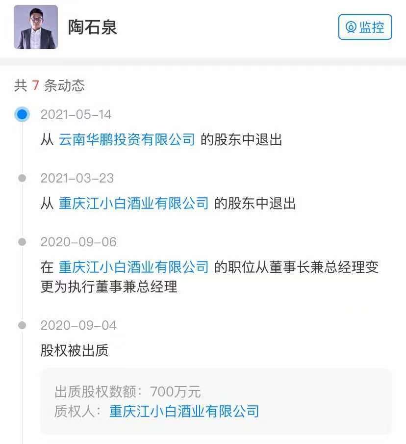 江小白变身外资疑为赴港上市做铺垫 公司回应称股东结构没有变化