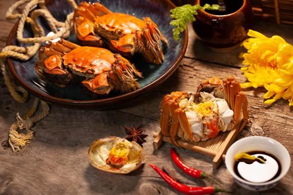 菊香蟹胖,吃蟹正那时