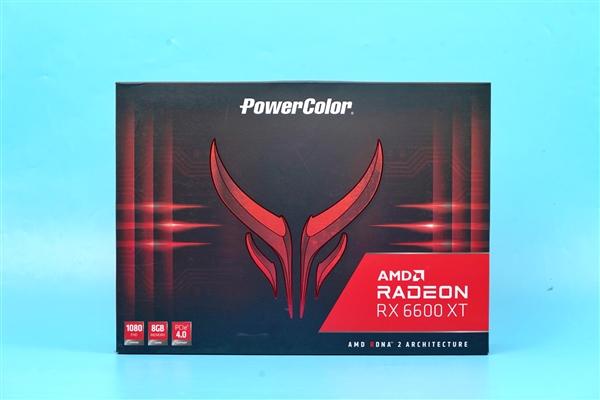 撼讯RX6600XT红魔拆解图赏:双BIOS 超频/静音一键切换