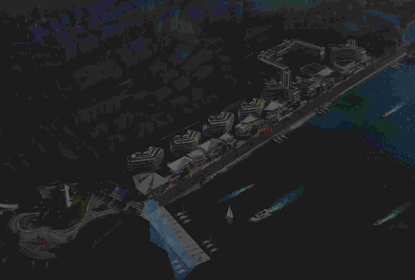 青岛祥源沙港湾项目一期规划出炉 将对标旧金山渔人码头