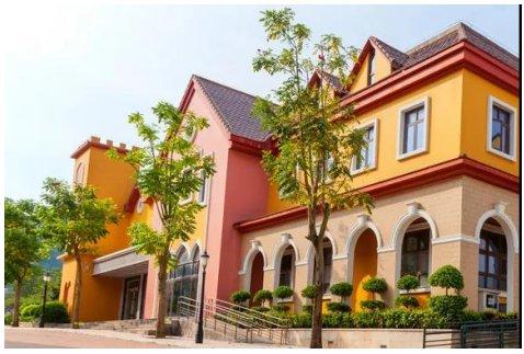 卡本真石漆 你与耐久安全、高颜值的老旧小区外墙,只差一款漆的距离