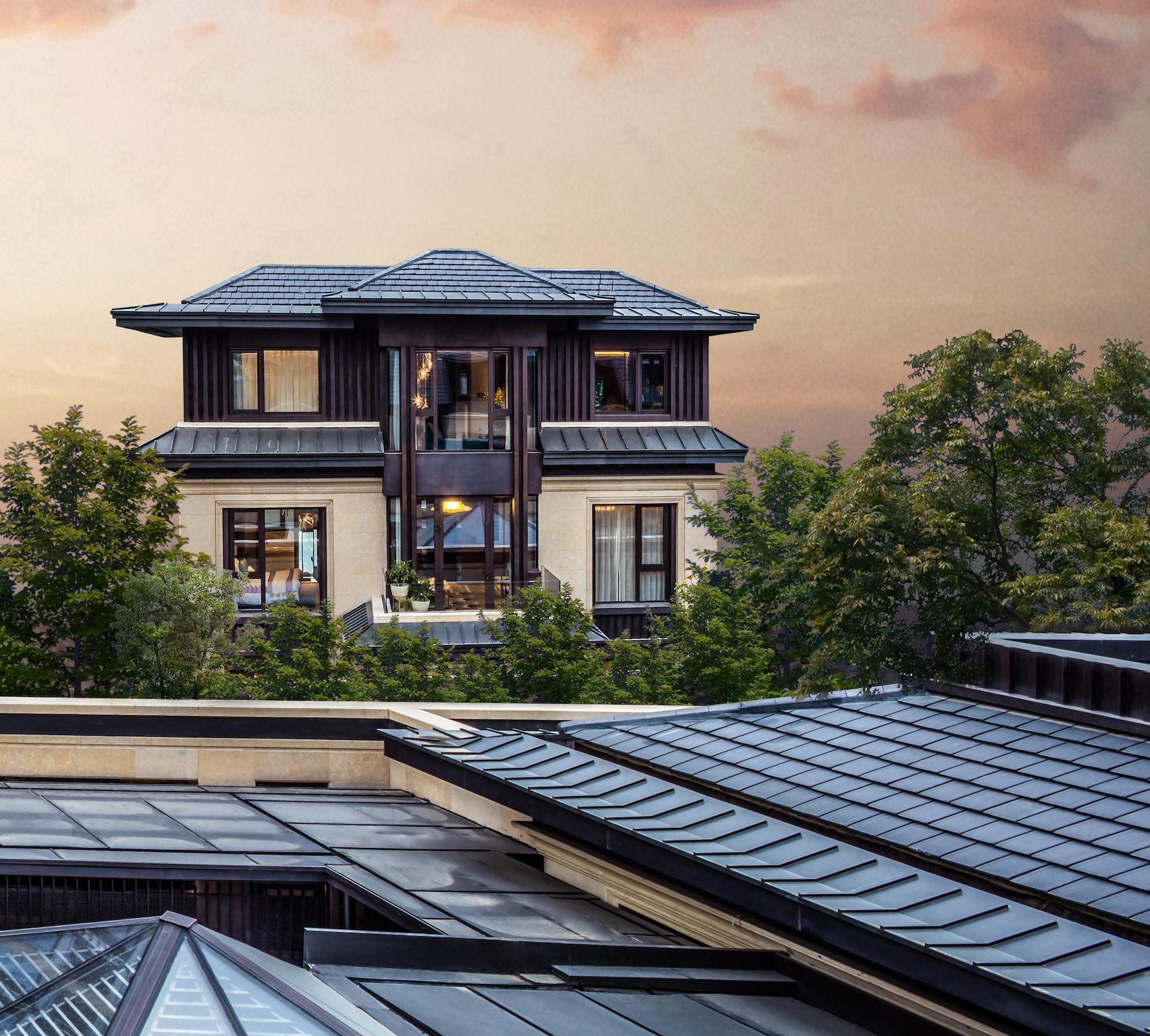 鲁能·钓鱼台美高梅别墅:三环天际线之上的最美风景