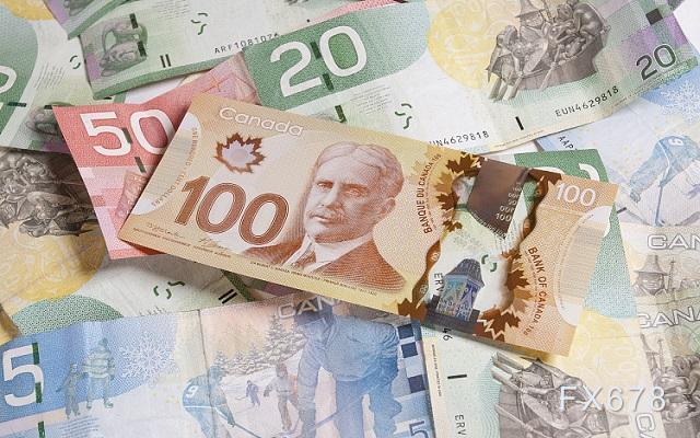 美元兑加元日内走势纠结,未来恐进一步下跌
