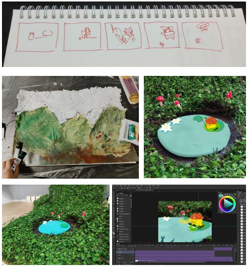 "MOMO PLANET x BIFT动画学院联名动画接龙创作""探险寻宝"""