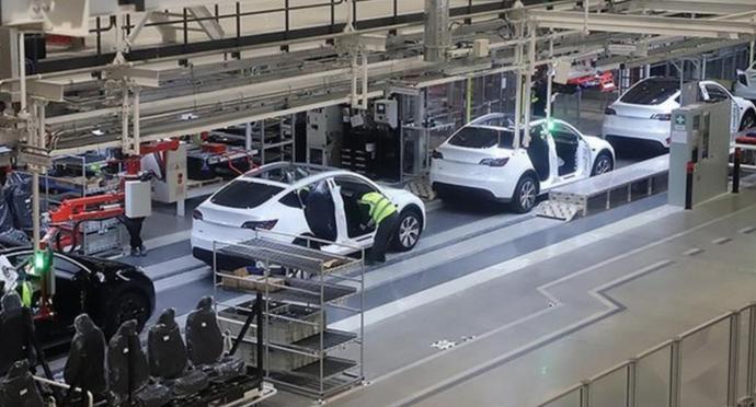还是不够卖!特斯拉上海工厂Model Y日产能已达1600辆:是年初3倍